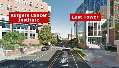 East Tower Location Rutgers Cancer Institute Of New Jersey