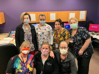 Rutgers Cancer Institute Nurses in masks
