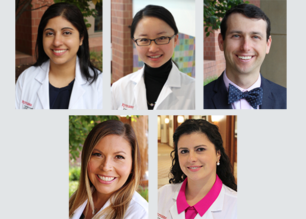 collage of the physicians in the phase I team