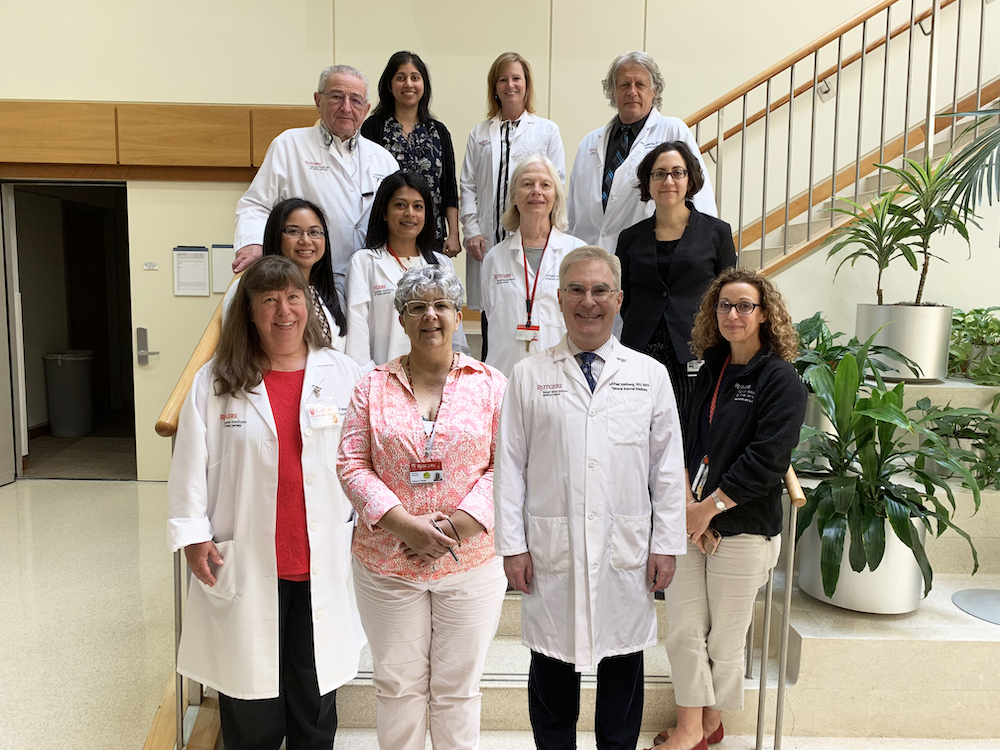 Staff of the CINJ thoracic oncology program